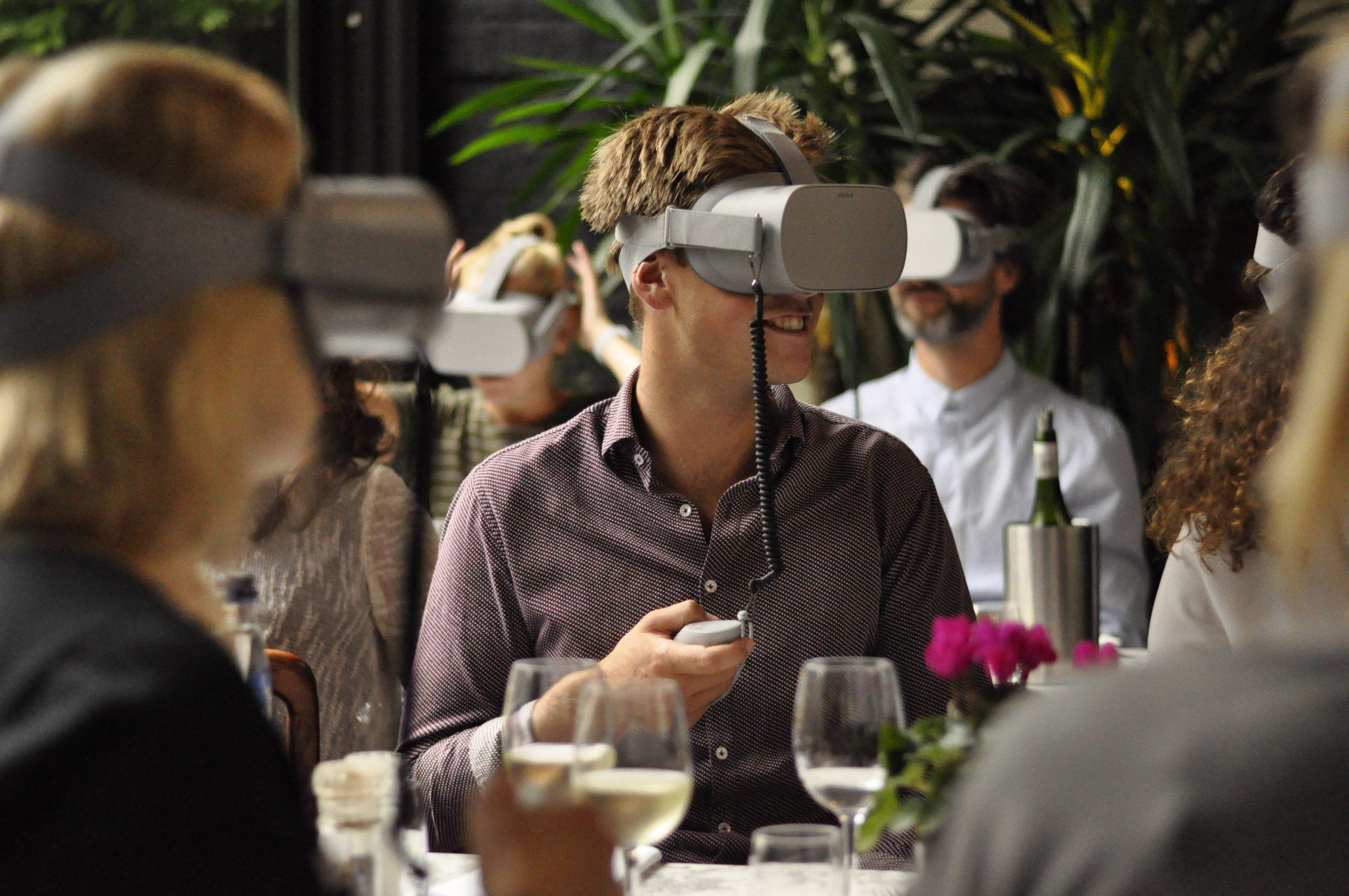 VR dining Alkmaar
